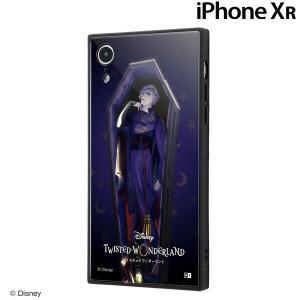 ☆ ディズニー iPhoneXR 専用 耐衝撃ケース KAKU/『ツイステッドワンダーランド/ヴィル・シェンハイト』 IQ-DP18K3B/DG003 (メール便送料無料)|bigstar