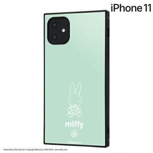 ☆ ミッフィー iPhone11(6.1インチ)専用 耐衝撃ハイブリッドケース KAKU 花 IQ-BP21K3TB/MF004 (メール便送料無料)|bigstar