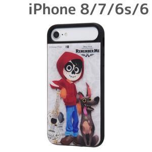 ☆ ディズニー iPhone8/7/6s/6 専用 耐衝撃ケース キャトル パネル リメンバー・ミー1 IQ-DP76PCB/CO001 (レビューを書いてメール便送料無料)|bigstar
