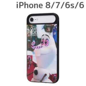 ☆ ディズニー iPhone8/7/6s/6 専用 耐衝撃ケース キャトル パネル オラフ1 IQ-DP76PCB/OL001 (レビューを書いてメール便送料無料)|bigstar