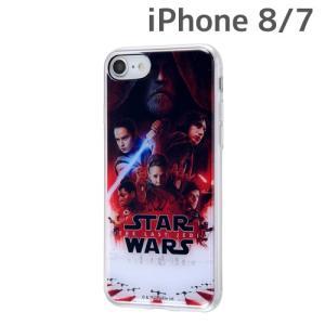 ☆ スター・ウォーズ iPhone8 iPhone7 専用 TPUケース 背面パネルセット ポスターアート8 IJ-SWP7TP/SWS040 (レビューを書いてメール便送料無料)|bigstar