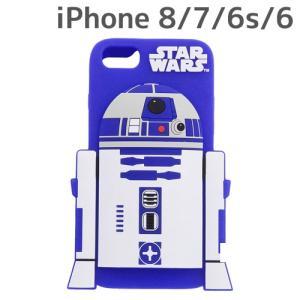 ☆ スター・ウォーズ iPhone8/7/6s/6 専用 シリコンケース ダイカット R2-D2 IN-SWP7S6DC1/RD (レビューを書いてメール便送料無料)|bigstar