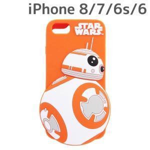 ☆ スター・ウォーズ iPhone8/7/6s/6 専用 シリコンケース ダイカット BB-8 IN-SWP7S6DC1/B8 (レビューを書いてメール便送料無料)|bigstar
