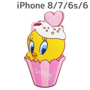 ☆ トゥイーティー iPhone8/7/6s/6 専用 シリコンケース ダイカット IN-WP7S6DC1/TW (レビューを書いてメール便送料無料)|bigstar