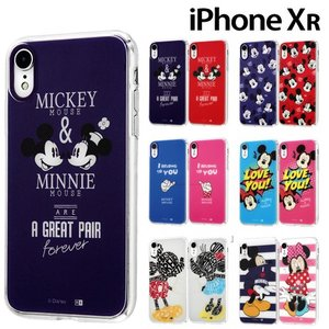 ☆ ディズニー iPhoneXR (6.1インチ) 専用 TPUケース+背面パネル IJ-DP18TP/MKN(レビューを書いてメール便送料無料)|bigstar