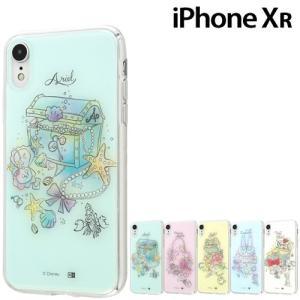 ☆ ディズニー iPhoneXR (6.1インチ) 専用 OTONA TPUケース+背面パネル IJ-DP18TP(レビューを書いてメール便送料無料)|bigstar