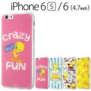 ☆ ルーニー・テューンズ iPhone6s iPhone6 (4.7インチ) 専用 TPUケース+背面パネル トゥイーティー IJ-WP6TP/TW(メール便送料無料)|bigstar