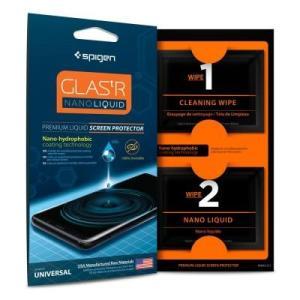 ☆ Spigen スマートフォン・タブレット用 液晶保護コーティング剤 GLAS.tR Nano Liquid ナノリキッド 000GL21813 bigstar