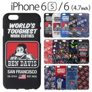 ☆ BEN DAVIS (ベンデイビス) iPhone6s iPhone6 (4.7インチ) 専用 シリコンケース SILICONE iPhone case|bigstar