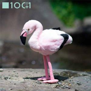 ☆ ぬいぐるみ101 鳥のヌイグルミ スタンディングバード フラミンゴ SM017 bigstar