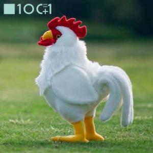 ☆ ぬいぐるみ101 鳥のヌイグルミ スタンディングバード ニワトリ (白) SM034 bigstar