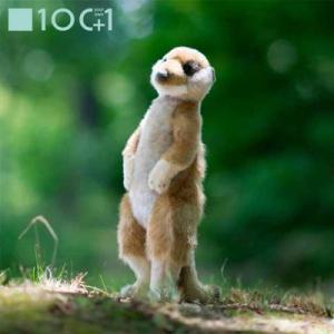 ☆ ぬいぐるみ101 動物のヌイグルミ ミーアキャット SM086|bigstar