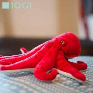 ☆ ぬいぐるみ101 海の生き物のヌイグルミ タコ SM125|bigstar