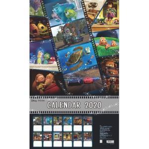 ディズニー (2020年1月始まり) 2020年 ウォールカレンダー 12枚 DC ピクサー S85...