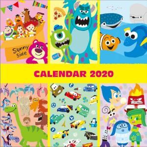 ディズニー (2020年1月始まり) 2020年 ウォールカレンダーL DC ピクサー S85177...