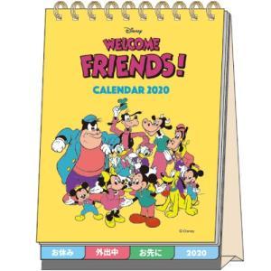 ディズニー (2020年1月始まり) 2020年 デスクカレンダー メッセージ付 DC スタンダード...