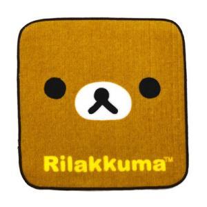 リラックマ グッズリラックマ リラックマフェイス ミニハンカチ リラックマ RK48-84|bigstar