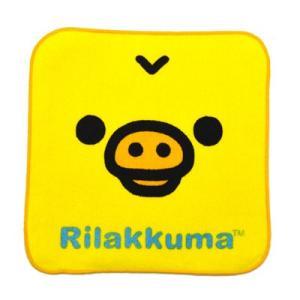 リラックマ グッズリラックマ リラックマフェイス ミニハンカチ キイロイトリ RK48-86|bigstar