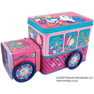 スヌーピー XMバス缶 チョコチップクッキー80g 78210 bigstar