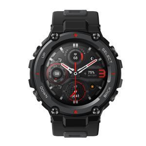 Amazfit スマートウォッチ T-Rex Pro ブラック sp170036C01 bigstar