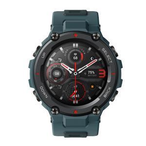 Amazfit スマートウォッチ T-Rex Pro ブルー sp170036C04 bigstar