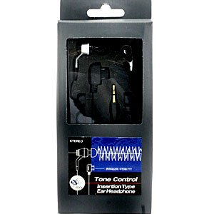 (特価 YS)Tone Control ステレオ・イヤーヘッドホン シルバー SE-601S J32-120239 bigstar