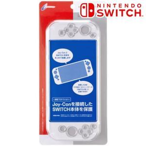 [CYBER] Nintendo Switch 専用 プロテクトカバー クリア CY-NSPTC-CL|bigstar