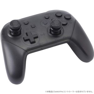 CYBER Nintendo Switch Proコントローラー用 アナログアシストスティック ブラック CY-NSAASSP-BK|bigstar