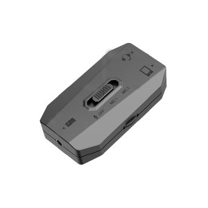 CYBER Nintendo Switch用 スマホオーディオミキサー ブラック CY-NSSAM-BK|bigstar