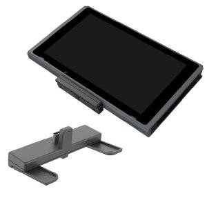CYBER Nintendo Switch/Switch Lite用 Bluetoothオーディオトランスミッター スリム ブラック CY-NSBTMS-BK|bigstar