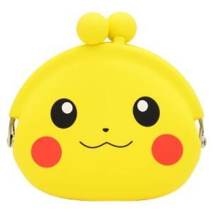 ポケットモンスター POCHI シリコンがまぐち ピカチュウフェイス 12803|bigstar