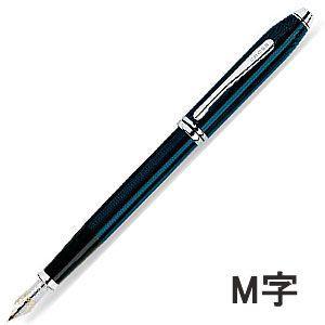 (送料無料)☆ CROSS. (クロス) タウンゼント クォーツブルーラッカー 万年筆 (M字) ♯696-1MD|bigstar