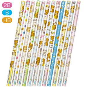 リラックマ 鉛筆いっぱい 鉛筆 PN100|bigstar