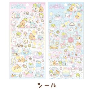 (8) すみっコぐらし たぴおかパークテーマ シール SE47901/SE48001|bigstar