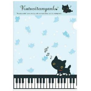 靴下にゃんこ 猫の演奏会テーマ クリアホルダー FY97804|bigstar