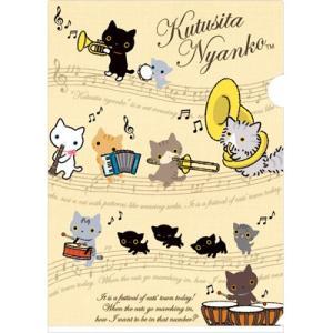 靴下にゃんこ 猫の演奏会テーマ クリアホルダー FY09506|bigstar