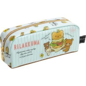 (2) リラックマ キャラミックス BOX型ペンポーチ ハンバーガー柄 PY68301 bigstar