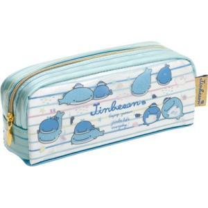 (2) じんべえさん キャラミックス BOX型ペンポーチ PY68601 bigstar