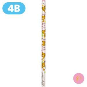 リラックマ キャラミックス 鉛筆 (4B) PN16101|bigstar