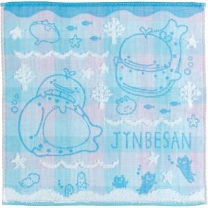 (5) じんべえさん 今治タオル ミニタオル ブルー CM04801|bigstar