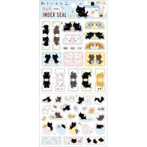 靴下にゃんこ キャラミックス スケジュールブックアクセサリー インデックスシール SE35806 (激安メガセール!)|bigstar