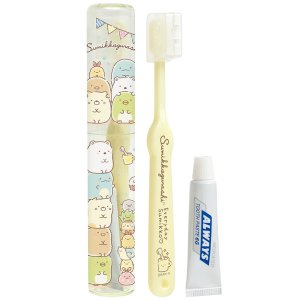 (8) すみっコぐらし いつものすみっコテーマ キャラミックス ケアアイテム 歯ブラシセット FE2...