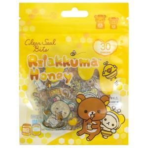 (3) リラックマ キャラミックス クリアシールビッツ ハニー SE46202|bigstar