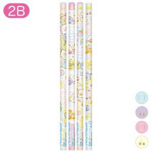 (5) すみっコぐらし ぺんぺんフルーツバケーションテーマ 鉛筆 (2B) 4本セット PH05901|bigstar