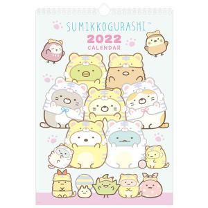 (8) すみっコぐらし (サンエックス) 2022年 壁かけカレンダー (B4) CD35901