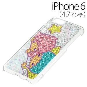 ▲ iDress リトルツインスターズ (キキララ) iPhone6 (4.7インチ) 専用 ジュエリーカバー キキとララ iP6-TS01 bigstar