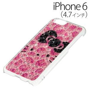▲ iDress ハローキティ iPhone6 (4.7インチ) 専用 ジュエリーカバー ヒョウ柄フェイス iP6-KT03 bigstar