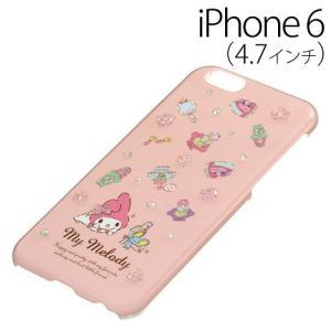 ▲ iDress マイメロディ iPhone6 (4.7インチ) 専用 ジュエリーカバー コスメ iP6-MM03 bigstar
