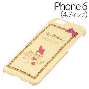 ▲ iDress マイメロディ iPhone6 (4.7インチ) 専用 ジュエリーカバー スケッチ iP6-MM05 bigstar
