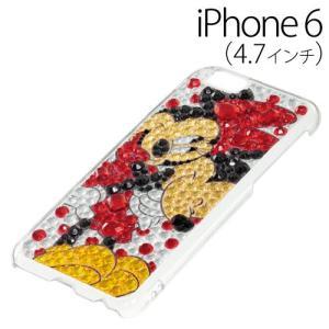 ▲ iDress ディズニー iPhone6 (4.7インチ) 専用 ジュエリーカバー ミッキーミニー iP6-DN01 bigstar